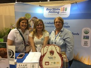 Kathy Kupinska, center, has attended 11 Natural Products Expos.