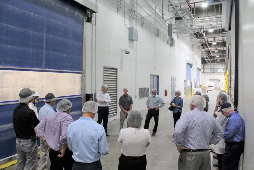 New Woodland Facility Hosts Open House